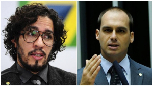 Jean Wyllys e filho de Bolsonaro estão juntos em defesa da internet ilimitada
