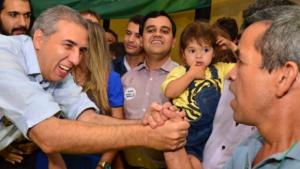 Lideranças de partidos de fora da base governista manifestam apoio a José Eliton