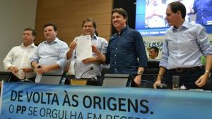 Juraci Martins se filia ao PP em grande evento em Rio Verde