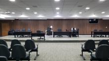 Reforma de auditório para júri popular será entregue na sexta-feira, 31