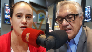 """Após debate, Kátia rebate Caiado sobre propostas para saúde da mulher: """"Interesse eleitoreiro"""""""