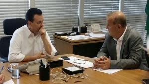 Paulo Garcia se reúne com Kassab para garantir recursos de obras em Goiânia