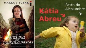 Reação de Kátia Abreu contra a candidatura de Alcolumbre a presidente do Senado cai nas graças da internet