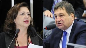 Kátia Abreu critica governo do estado e Halum contra-ataca