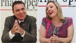 Adriana prega unidade do PT na escolha do pré-candidato, Luis Cesar diz que continua na disputa