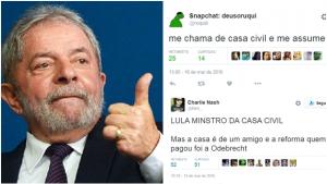 As melhores reações ao anúncio de que Lula assumirá Casa Civil