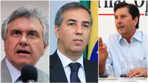 Caiado amarela e não reage às bordoadas verbais de Maguito Vilela e José Eliton