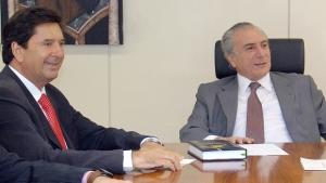 Michel Temer convida Maguito para reuniões do PMDB em Brasília