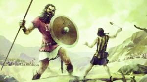É improvável, mas Golias não era o favorito em sua batalha contra Davi
