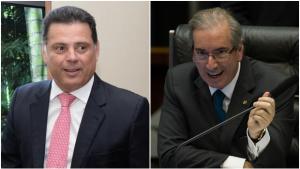 Marconi se reúne com o presidente da Câmara Federal, Eduardo Cunha