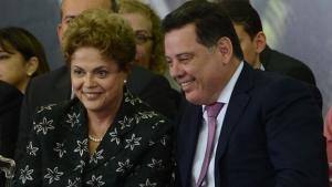 Em Brasília, Dilma e Marconi discutem sobre novo aeroporto de Goiânia e Ferrovia Norte-Sul