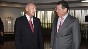 Marconi recebe embaixador da Suíça e divulga potencialidades de Goiás