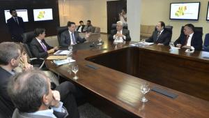Marconi apresenta metas de gestão ao secretariado para 2016