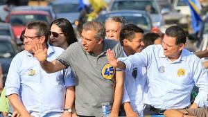 Em Planaltina e Formosa, Marconi diz que colocará seu mandato de senador à disposição do Entorno