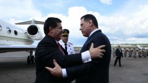 Marconi recebe presidente do Paraguai e encontro amplia relações entre Goiás e o país