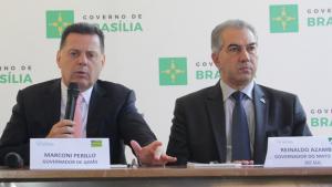 Governador de MS diz que será difícil substituir Marconi no Consórcio Brasil Central