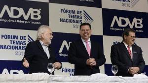 """Em SP, empresário exalta Marconi: """"Homem que ainda irá assumir a presidência do País"""""""