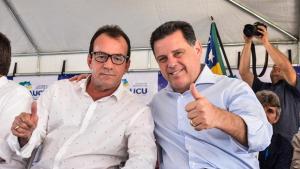 Marconi inaugura avenida e assina convênio de R$ 1 milhão em Itauçu