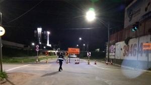 Marginal Botafogo é interditada entre Independência e Anhanguera nos dois sentidos