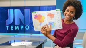 Maria Júlia, do Jornal Nacional, é destaque nas redes após ser alvo de racismo