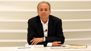 Mario Sergio Conti entrevista Elisabeth Roudinesco e não consegue pronunciar seu nome