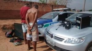 Celular encontrado com menor em atitude suspeita leva policiais a desvendarem roubo à residência