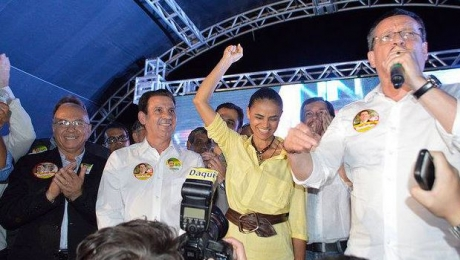 Visita de Marina Silva a Aparecida de Goiânia é marcada por críticas aos adversários