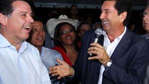 Maguito ressalta espírito republicano do governador Marconi Perillo durante inauguração da iluminação da BR-153