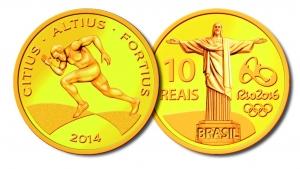 BC apresenta as moedas comemorativas das Olimpíadas de 2016