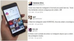 Instagram começa a ordenar fotos por relevância e usuários não param de reclamar