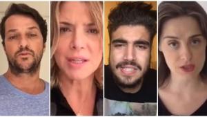 Famosos gravam vídeos de apoio aos protestos do dia 15