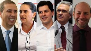 Confira a agenda dos candidatos ao governo de Goiás nesta sexta-feira (5)