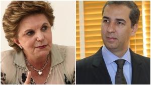 Lúcia Vânia conversa com Zé Eliton e Marconi Perillo nesta quinta-feira