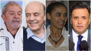 Em 2018, Lula perderia para Aécio, Alckmin, Serra e Marina
