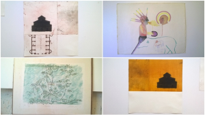 Winiká recebe exposição de desenhos e serigrafias de grandes artistas goianos