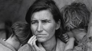 O olhar de Dorothea Lange sobre a tragédia