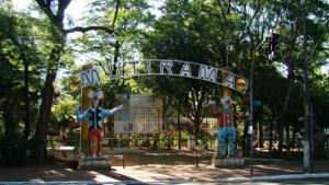 Permissionários do Parque Mutirama protestam por permanência em pontos comerciais