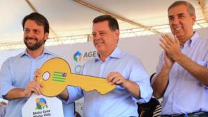 Parceria entre Marconi, Zé Eliton e Baldy entrega 640 apartamentos em Goiânia