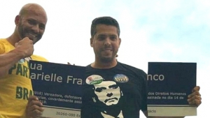 PSL quer deputado eleito que quebrou placa de Marielle na presidência da Alerj