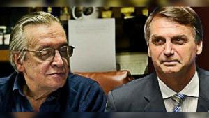 'Continuo admirando o Olavo', diz Bolsonaro em meio à crise entre olavistas e ala militar do governo
