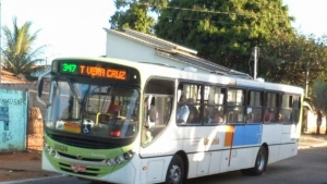 Obra no viaduto da GO 060 causa desvio de rota de 13 linhas de ônibus