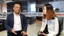 Deputado federal Major Vitor Hugo fala sobre processo de fundação do Aliança pelo Brasil em Goiás