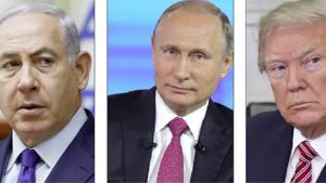 """Rússia, EUA e Israel criam """"poligamia"""" política que reduz crise e pode gerar paz"""