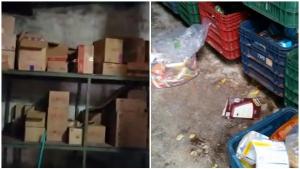 """Em vídeo, delegado mostra situação """"deplorável"""" de supermercado em Goiânia"""