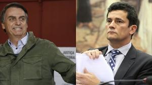 Deputado quer dar título de cidadão goiano para Jair Bolsonaro e Sergio Moro