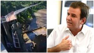 Prefeito do Rio diz que também é responsável por queda de ciclovia