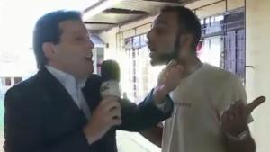 Apresentador da Record é xingado no ar e processa entrevistado. Veja vídeo