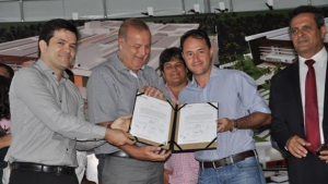 Prefeito Paulo Garcia lança obras da maior maternidade da Grande Goiânia