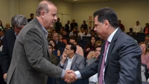 """Paulo Garcia visita Hugol e parabeniza governador: """"Uma obra histórica"""""""