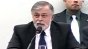 Paulo Roberto Costa diz que não fez negócios sujos com Sandes Júnior e Roberto Balestra. Veja o vídeo